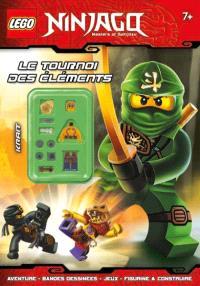 Lego Ninjago : masters of Spinjitzu, Le tournoi des éléments