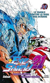 Eye shield 21. Volume 14, Le diable contre le dieu des océans