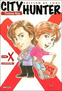 City Hunter X, illustrations. Volume 1