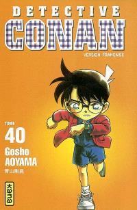 Détective Conan. Volume 40