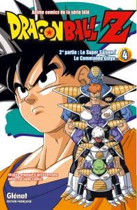 Dragon Ball Z : anime comics de la série télé : 2e partie, Le super Saïyen, le commando Ginyu. Volume 4