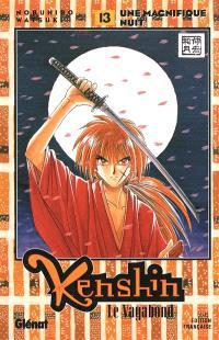 Kenshin, le vagabond. Volume 13, Une magnifique nuit