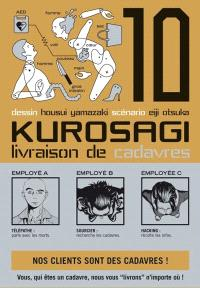 Kurosagi, livraison de cadavres. Volume 10