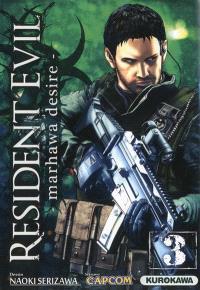 Resident evil : Marhawa desire. Volume 3