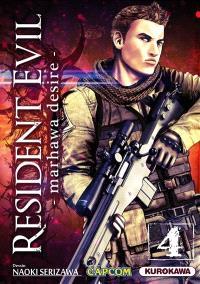 Resident evil : Marhawa desire. Volume 4