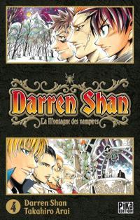 Darren Shan. Volume 4, La montagne les vampires