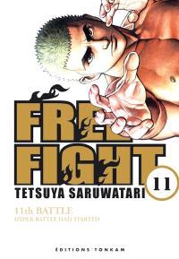 Free fight. Volume 11, Hyper battle had started : 11th battle