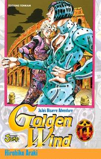 Golden wind : Jojo's bizarre adventure. Volume 14