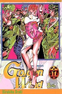 Golden wind : Jojo's bizarre adventure. Volume 11, Sans code aérien ! Dévoile le passé du boss
