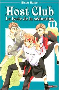 Host club : le lycée de la séduction. Volume 11