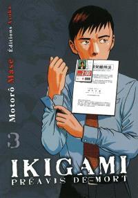 Ikigami, préavis de mort. Volume 3