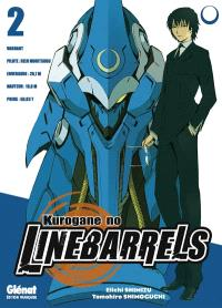 Kurogane no Linebarrels. Volume 2