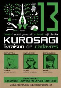 Kurosagi, livraison de cadavres. Volume 13