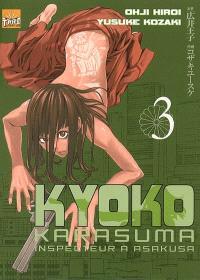 Kyôko Karasuma, inspecteur à Asakusa. Volume 3