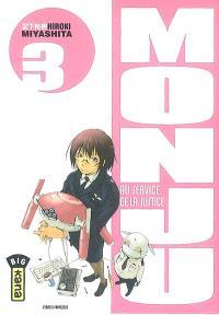 Monju, au service de la justice. Volume 3
