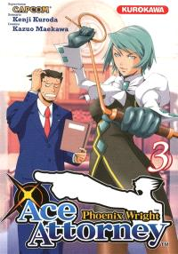Phoenix Wright : Ace Attorney. Volume 3
