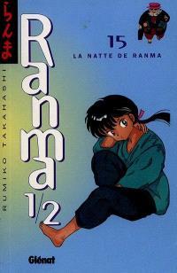 Ranma 1-2. Volume 15, La natte de Ranma