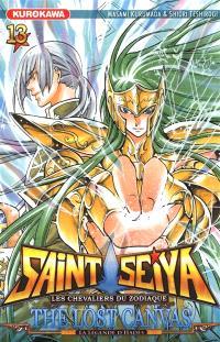 Saint Seiya : les chevaliers du zodiaque : the lost canvas, la légende d'Hadès. Volume 13