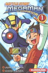 Battle story Megaman NT Warrior. Volume 1