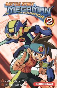 Battle story Megaman NT Warrior. Volume 2