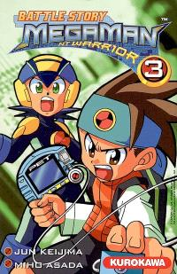 Battle story Megaman NT Warrior. Volume 3
