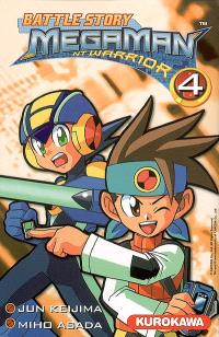 Battle story Megaman NT Warrior. Volume 4