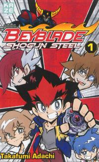 Beyblade shogun steel. Volume 1
