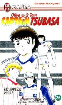 Captain Tsubasa : Olive et Tom. Volume 26, Les joueurs pros !