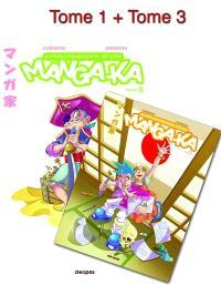 Chroniques d'un mangaka : tomes 1 et 3