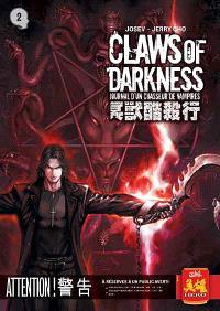 Claws of darkness : journal d'un chasseur de vampires. Volume 3