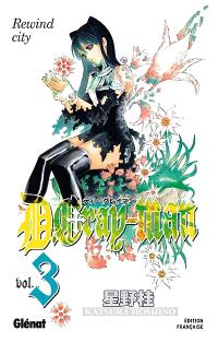 D. Gray-Man. Volume 3, Rewind city