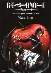 Death note : anime original soundtrack : music note. Volume 2
