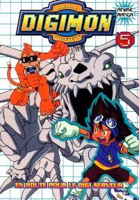 Digimon, Digital Monsters. Volume 5, En route pour le Digi-Serveur