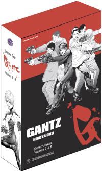 Gantz : tomes 1 à 3