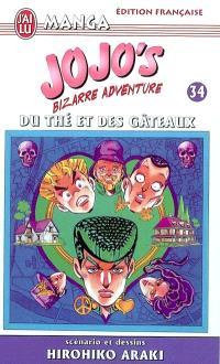 Jojo's bizarre adventure. Volume 34, Du thé et des gâteaux