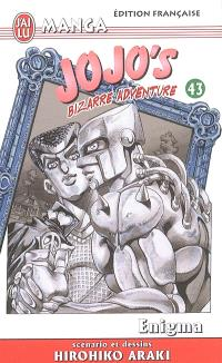 Jojo's bizarre adventure. Volume 43, Enigma
