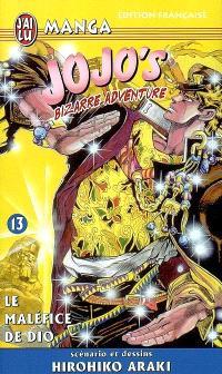 Jojo's bizarre adventure. Volume 13, Le maléfice de Dio
