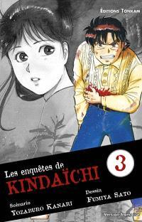 Les enquêtes de Kindaïchi. Volume 3