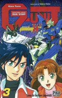Mobile suit Gundam wing G-Unit. Volume 3