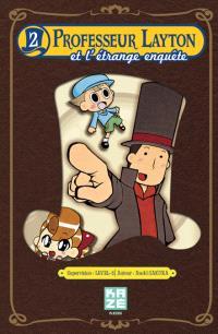 Professeur Layton et l'étrange enquête. Volume 2