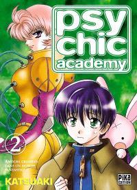 Psychic Academy : amours croisées dans un monde fantastique. Volume 2