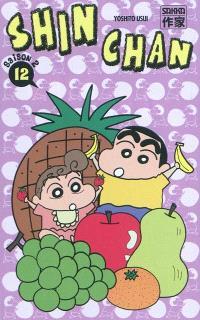 Shin Chan, saison 2. Volume 12