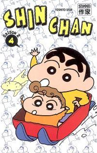 Shin Chan, saison 2. Volume 4