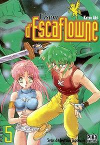 Vision d'Escaflowne. Volume 5
