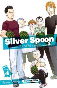 Silver spoon : la cuillère d'argent. Volume 4