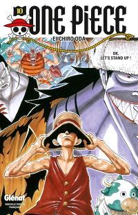 One Piece : édition originale. Volume 10, OK, let's stand up !