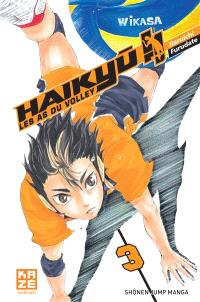 Haikyu !! : les as du volley. Volume 3, En marche, team Karasuno !