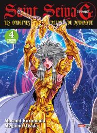 Saint Seiya, épisode G : les origines des chevaliers du zodiaque : volume double. Volume 4