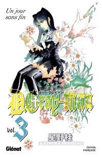 D. Gray-Man. Volume 3, Un jour sans fin