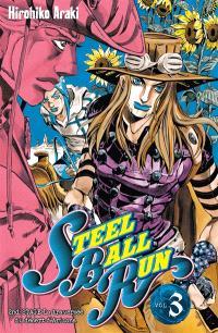 Steel ball run : Jojo's bizarre adventure. Volume 3, La traversée du désert d'Arizona : 2d stage